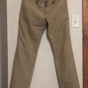 Khaki American Eagle pants...